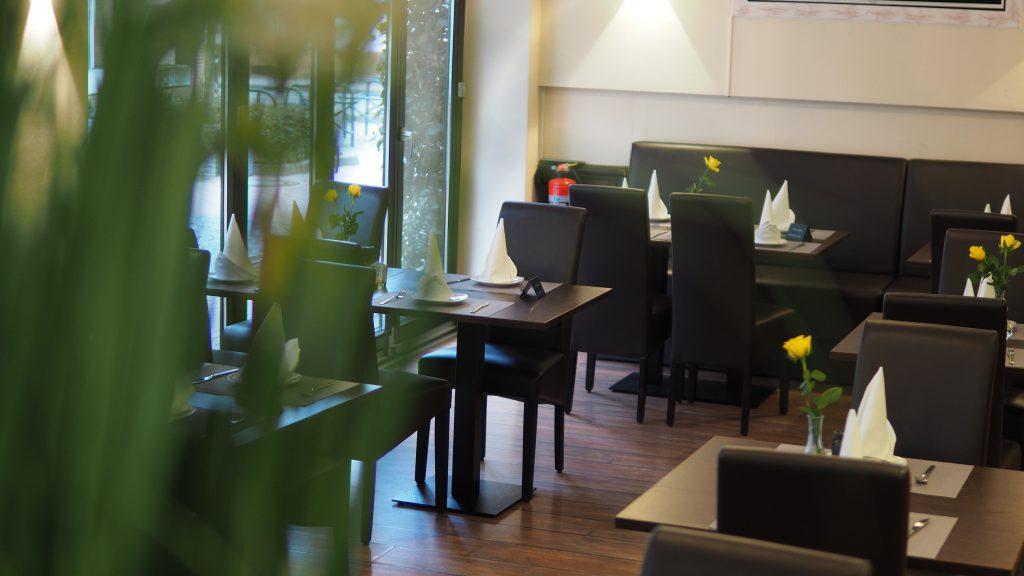 Eine gemütliche Ecke im Restaurant Prinz Buer